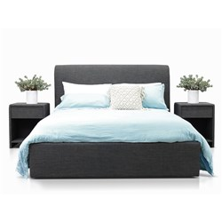 Forbes Charcoal Queen Bed