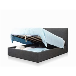Forbes Charcoal Queen Lift Bed