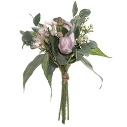 Australiana Mix Bouquet Pink 33cm H