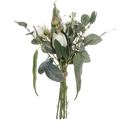 Australiana Mix Bouquet White33cm H