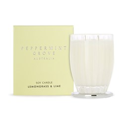 Lemongrass & Lime Extra LargeSoy Candles 700g