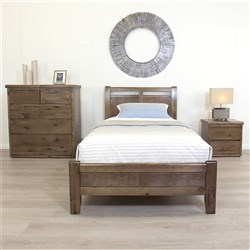 Calypso Nutmeg Single Bed