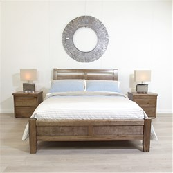 Calypso Nutmeg Queen Bed