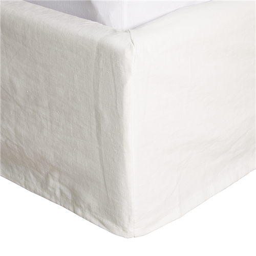 Noosa White Bed Cover