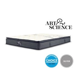 Silver Balanced Comfort Queen Mattress