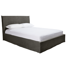 Noosa Charcoal Double Bed