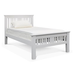 Kimberley White Single Bed