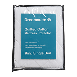 Dreamsuite Quilted King Single Mattress Protector