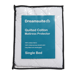 Dreamsuite Quilted Single Mattress Protector