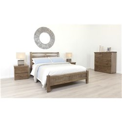 Calypso Nutmeg Double Bed