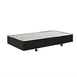 Mobile Charcoal Trundle Rollout Mattress