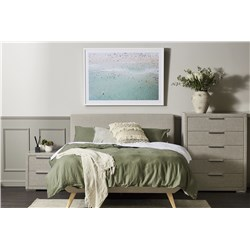 Oslo Light Grey King Tallboy Suite