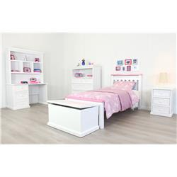 Rainbow Pink & White King Single Suite